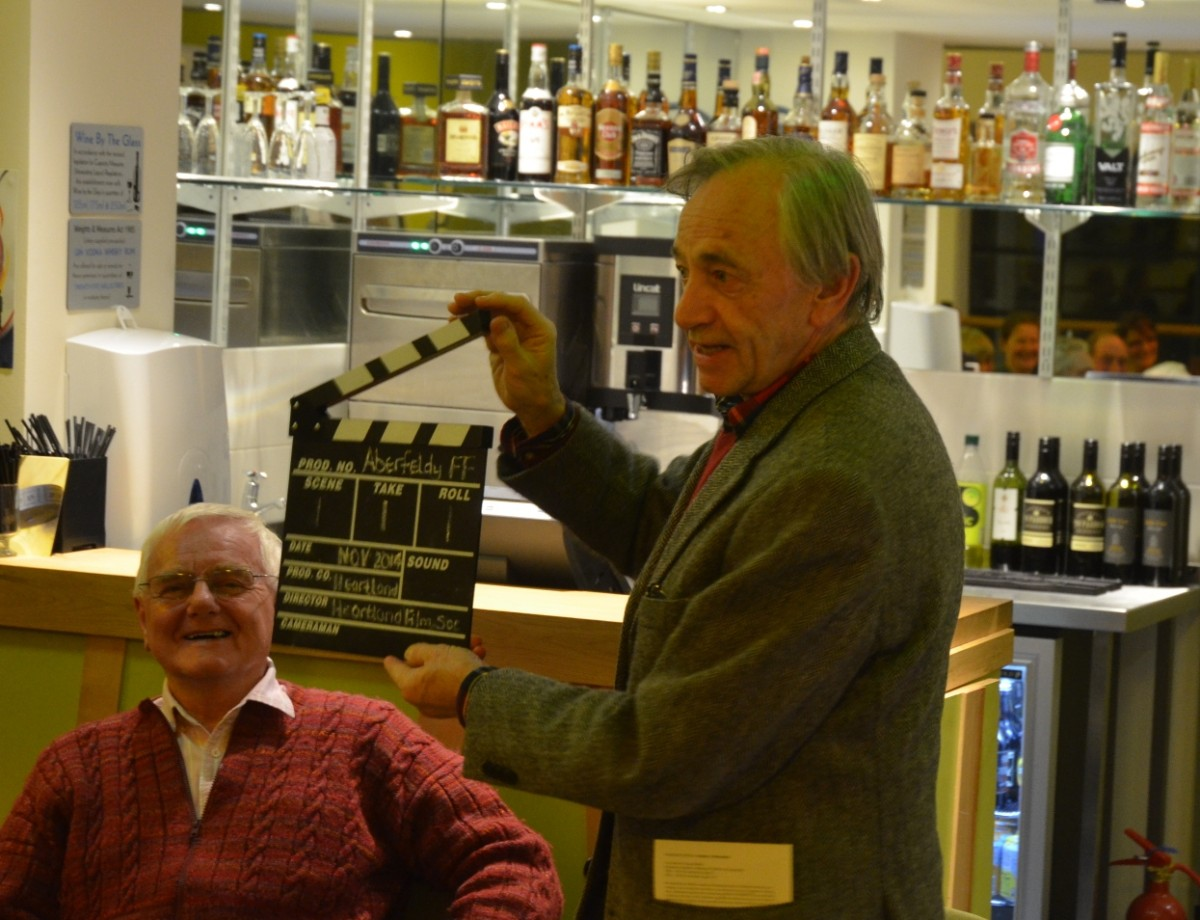 Bill Forsyth at the Aberfeldy Film Festival and Edinburgh Short Film Festival on tour