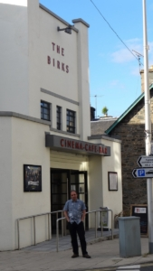 1930s Art Deco cinema home of the Aberfeldy Film Festival and Edinburgh Short Film Festival on tour