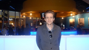 Short Film-Maker Damon Mohl with Edinburgh Short Film Festival at the Aberdeen International Film Festival