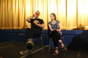 Mark Kermode at the Edinburgh Short Film Festival