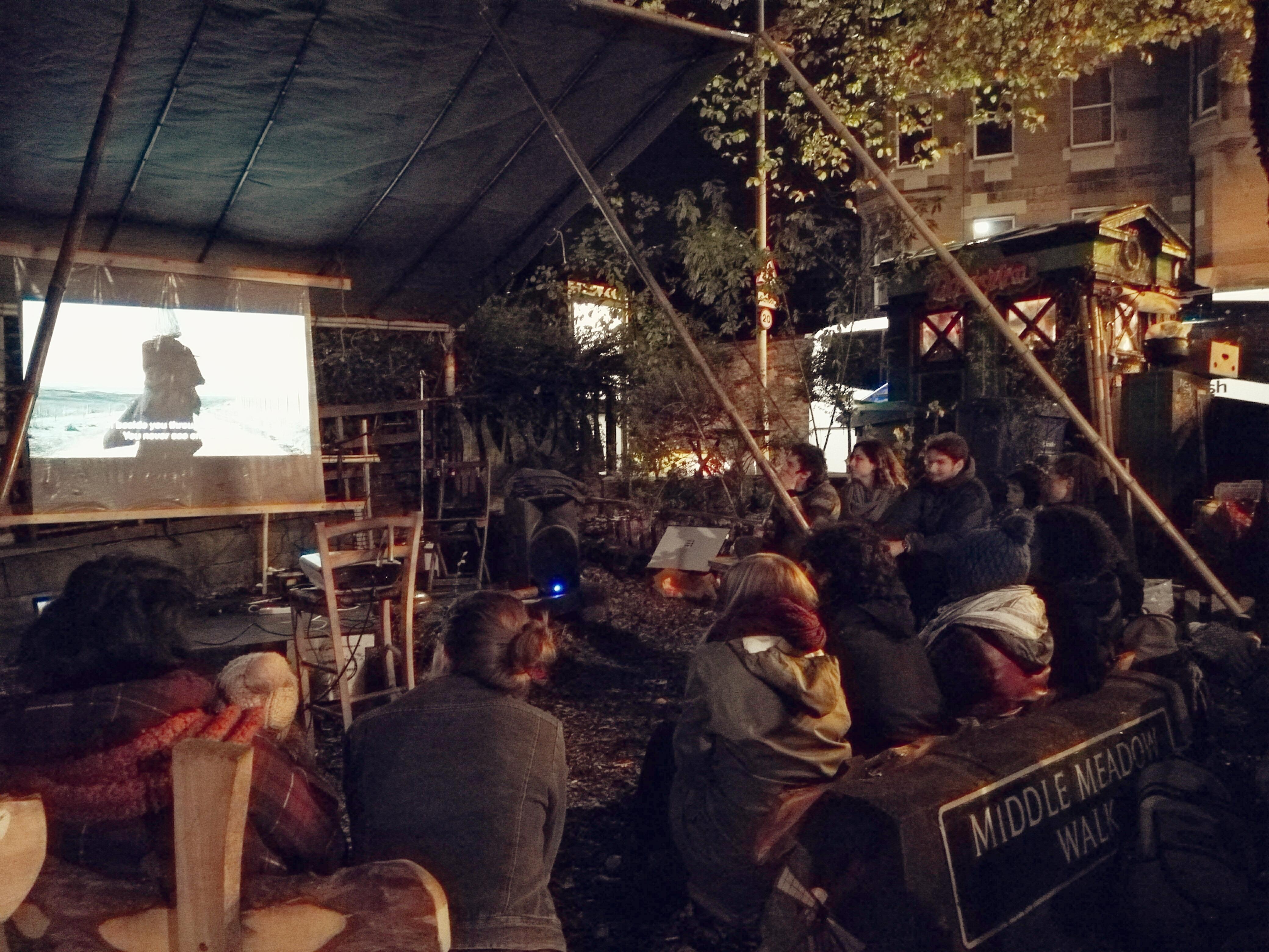 Edinburgh Short Film Festival's Garden Cinema | Edinburgh ...