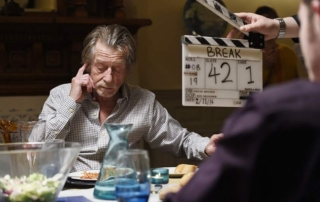 John Hurt in Break by Nicholas Moss at the 2016 Edinburgh Short Film Festival