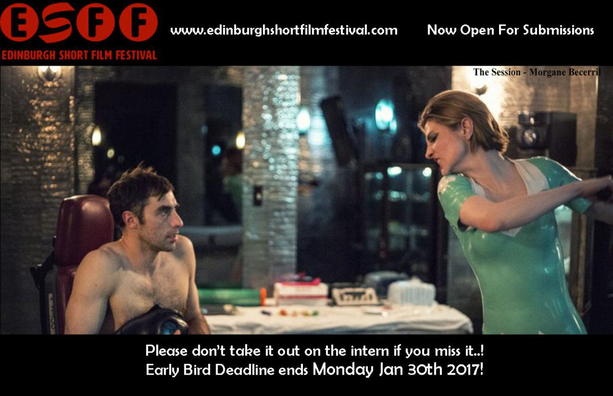 Edinburgh Short Film Festival Early Bird Deadline