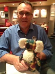 Edinburgh Short Film Festival meets cuddly koala Bendigo Mac at Scot's Day Out