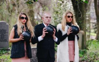 Short Film-Making in a Graveyard, Edinburgh Shorts