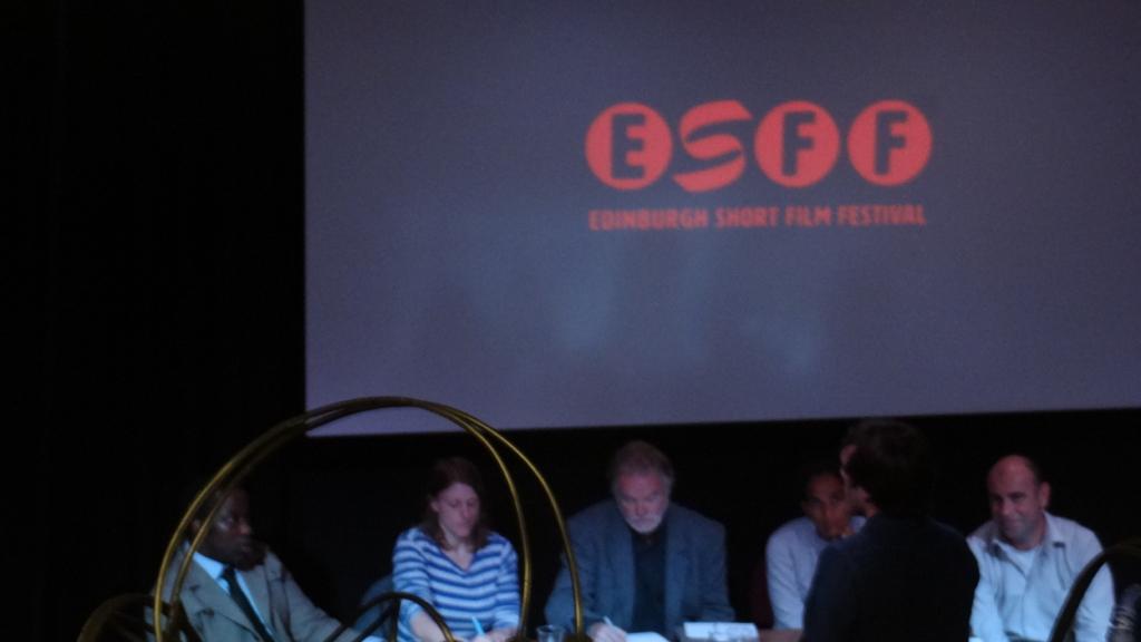 Script Pitch jury at the Edinburgh Short Film Festival
