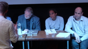 Script Pitch jury at the Edinburgh Short Film Festival