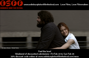 Edinburgh Short Film Festival Discount Weekend