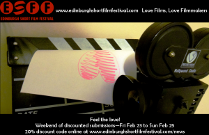 EDINBURGH SHORTS FILM SUBMISSION DISCOUNTS
