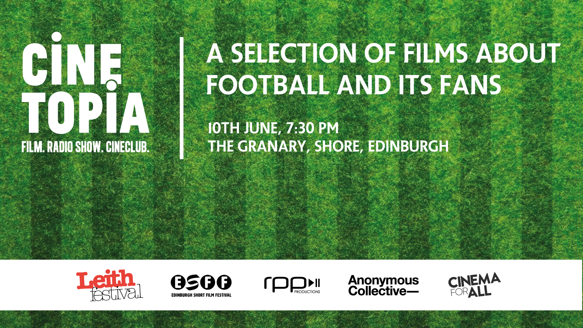 CINETOPIA & EDINBURGH SHORT FILM FESTIVAL EVENT