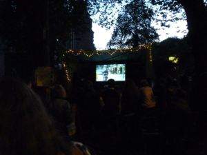 Edinburgh Short Film Festival Garden Cinema Launch Party 2018