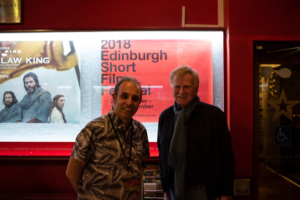 Aidan Stanley and the Edinburgh Short Film Festival