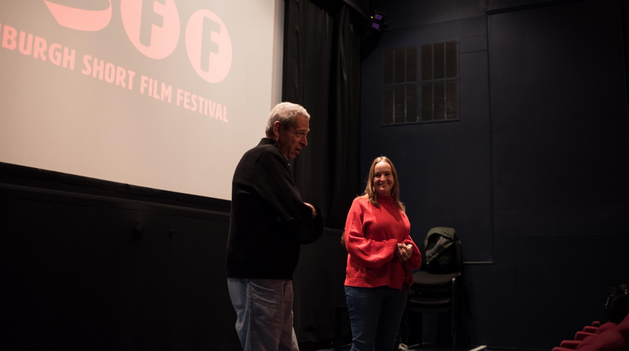 Paul Stekler at Edinburgh Short Film Festival 2019